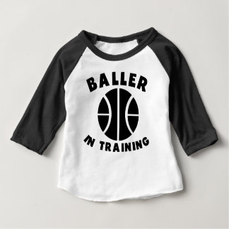 Baller In Training Baby T-Shirt