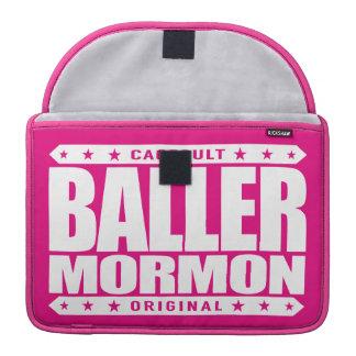 BALLER MORMON - Latter-Day Saint Church Gangster MacBook Pro Sleeves