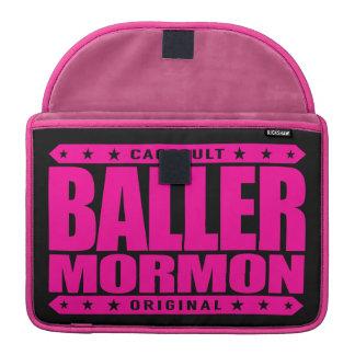 BALLER MORMON - Latter-Day Saint Church Gangster Sleeves For MacBooks