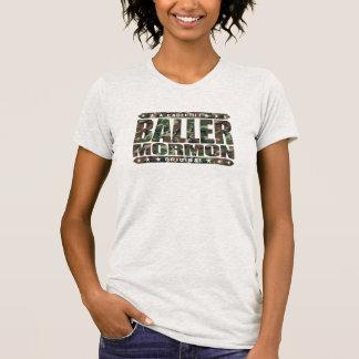 BALLER MORMON - Latter-Day Saint Church Gangster T-shirts