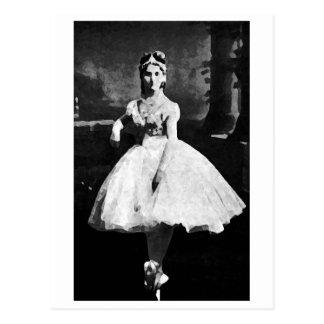 Ballerina, 1870. postcard