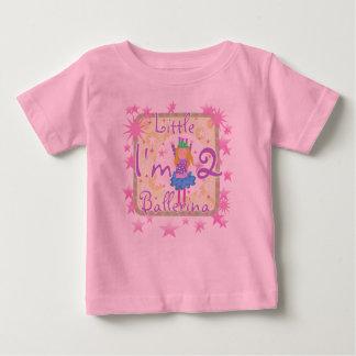 Ballerina 2nd Birthday Baby T-Shirt