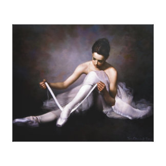 Ballerina 3 canvas print
