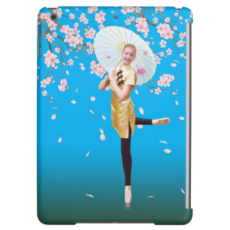 Ballerina and Cherry Blossoms iPad Air Covers