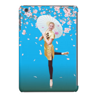 Ballerina and Cherry Blossoms iPad Mini Cases