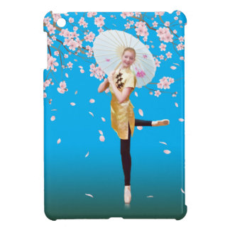Ballerina and Cherry Blossoms iPad Mini Covers