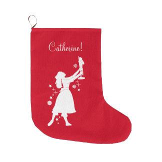 Ballerina and Nutcracker at Christmas