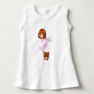 Ballerina and Teddy Bear Dress