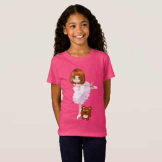Ballerina and Teddy Bear T-Shirt