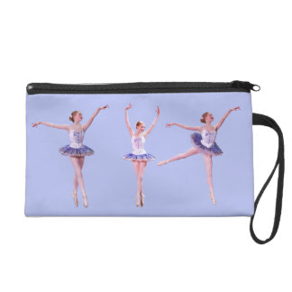 Ballerina, Bagettes Accessory Bag, Customizable Wristlet Clutch
