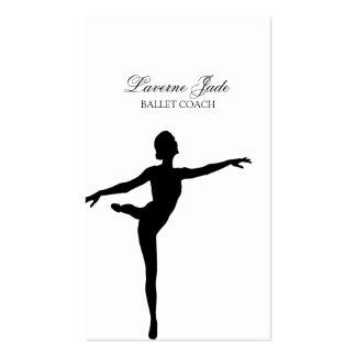 Ballerina Ballet Dance Teacher Instructor Pack Of Standard Business Cards