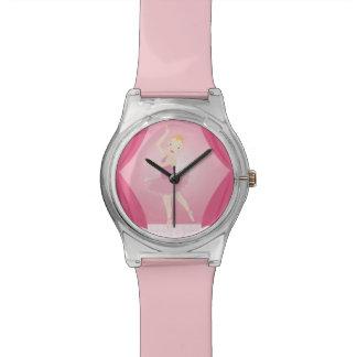 Ballerina birthday party wristwatches
