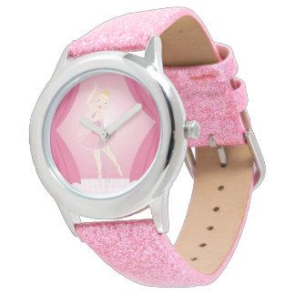 Ballerina birthday party wristwatch