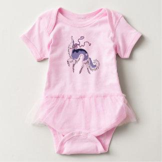 Ballerina Borzoi Infant Tutu Baby Bodysuit