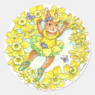 Ballerina Bunny Stickers