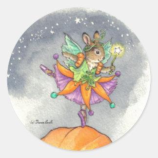 Ballerina Bunny Stickers Halloween