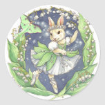 Ballerina Bunny Stickers Lily of the Valley