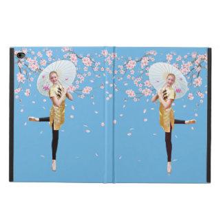 Ballerina, Cherry Blossoms, Customizable Monogram