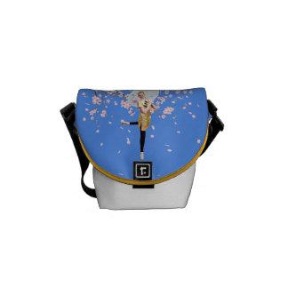 Ballerina, Cherry Blossoms Mini Messenger Bag