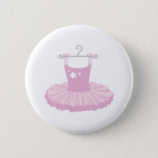 Ballerina Costume 6 Cm Round Badge