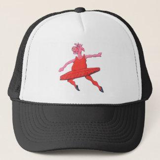 Ballerina Cow Trucker Hat