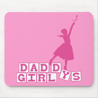 Ballerina Daddy's Girl Mouse Pad