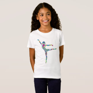 Ballerina Dancer Ballet Lovers Novelty Gift TShirt