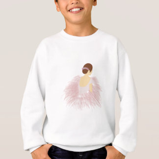 Ballerina Dancer Brunette Sweatshirt