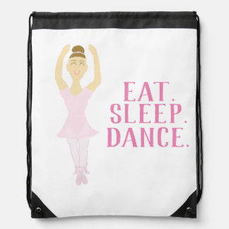Ballerina Drawstring Backpack
