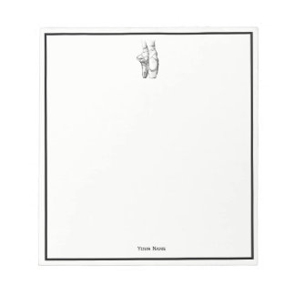 Ballerina Feet on Pointe #1 Notepads