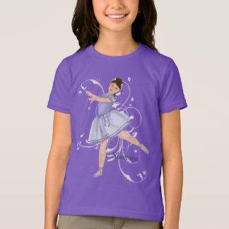 Ballerina Girl Pastel T-Shirt