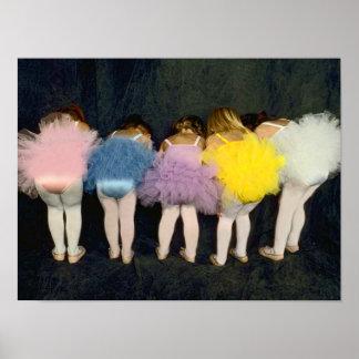Ballerina Girls Posters