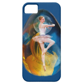 Ballerina in Alien Galaxy Barely There iPhone 5 Case