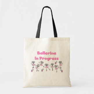 Ballerina in Progress T-shirts and Gifts Bags