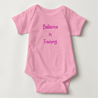 Ballerina in Training- onsie Baby Bodysuit
