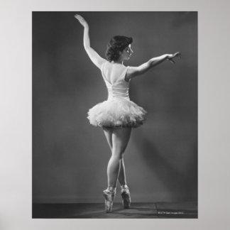 Ballerina in Tutu Poster