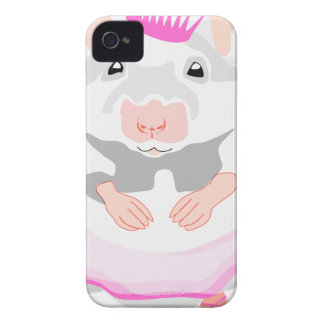 ballerina mouse iPhone 4 case