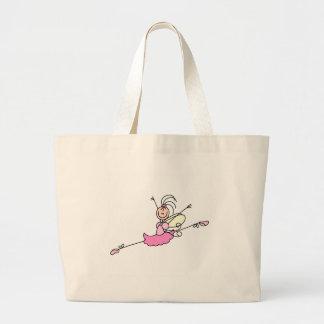 Ballerina One Stick Figure Bag