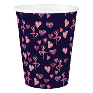 Ballerina Paper Cup