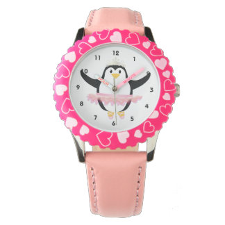 Ballerina Penguin Watch