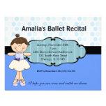 Ballerina Personalised Announcements