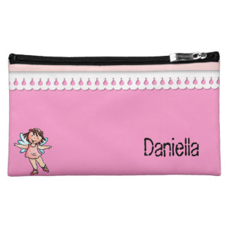 Ballerina Pink Lace - Cosmetic Bag