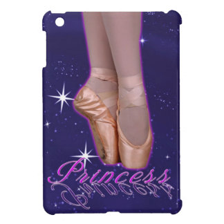 Ballerina princess in her point shoes case for the iPad mini