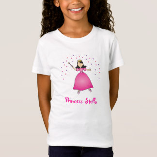 Ballerina Princess Personalized Girls Shirt