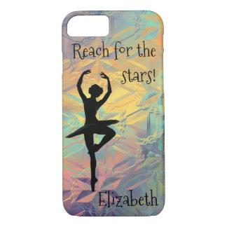Ballerina Reach for the Stars iPhone 8/7 Case