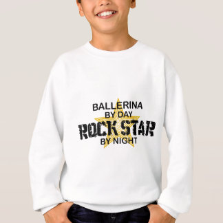 Ballerina Rock Star by Night Sweatshirt
