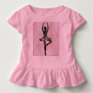 Ballerina ruffle child's shirt