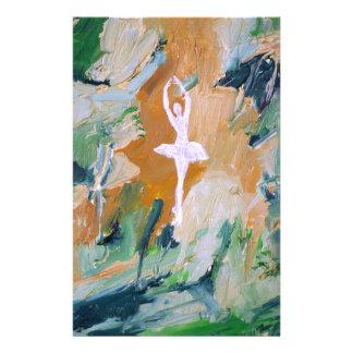 ballerina - September 2 ,2012.JPG Personalized Stationery