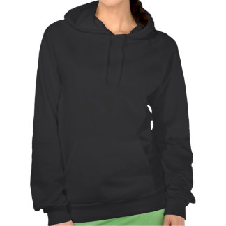 Ballerina Silhouette in Pink Hooded Pullover