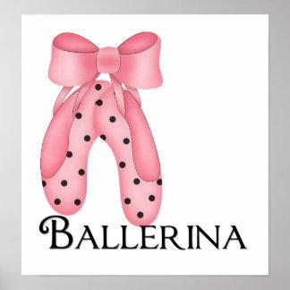 Ballerina Slippers 1 Print